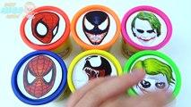 Les couleurs la famille doigt pour enfants Apprendre sucettes garderie jouer rimes homme araignée super-héros doh