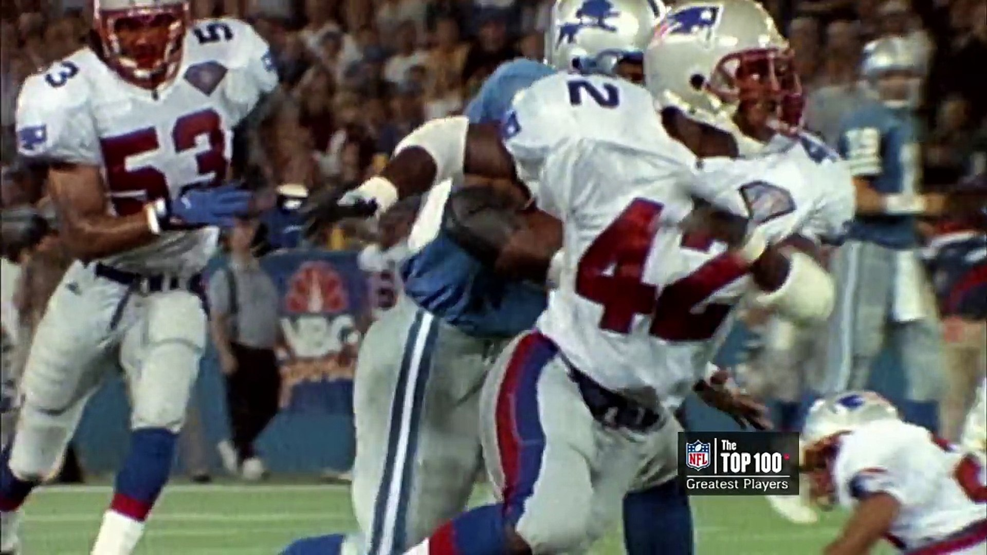 #17: Barry Sanders | The Top 100: NFLs Greatest Players (2010) | #FlashbackFridays