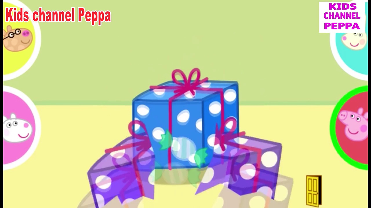 ☀ Peppa Pig Playing Pass The Parcel ☀ Peppa Pig Games ☀ Peppa Pigs Party Time App Demo fo