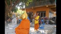 Bang Pa In, Wat Tham Le Thai, Ayutthaya, Thailand