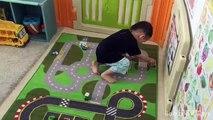 Des voitures artisanat bricolage chaud boîte dallumettes projet course course jouet piste piste tutoriel roues Mattel bamzee r t