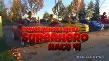 Démolition héros Méga puissance course course super-héros roues avec 5 2 derby
