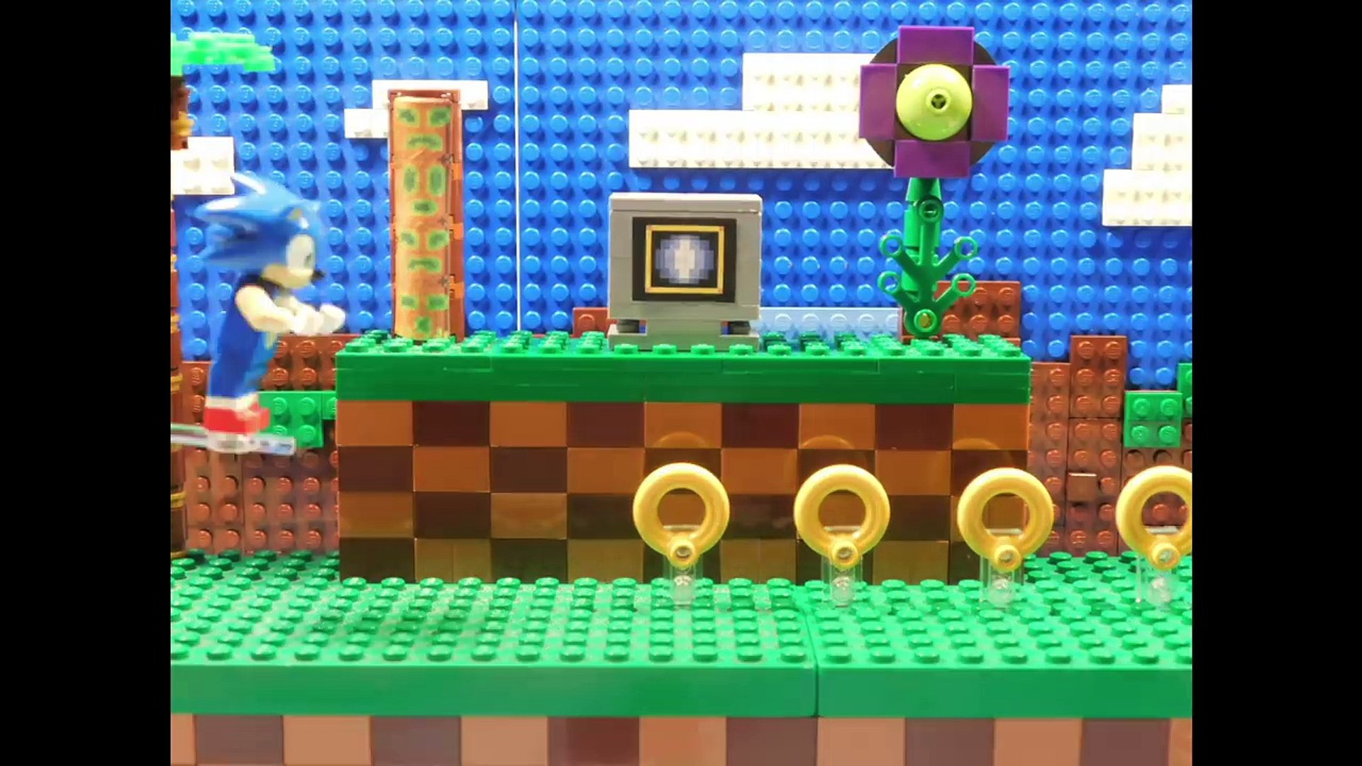 Lego Sonic The Hedgehog Green Hill Zone Video Dailymotion