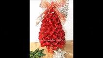 Noël bricolage Comment faire faire papier à Il des arbres arbres de Noël en papier