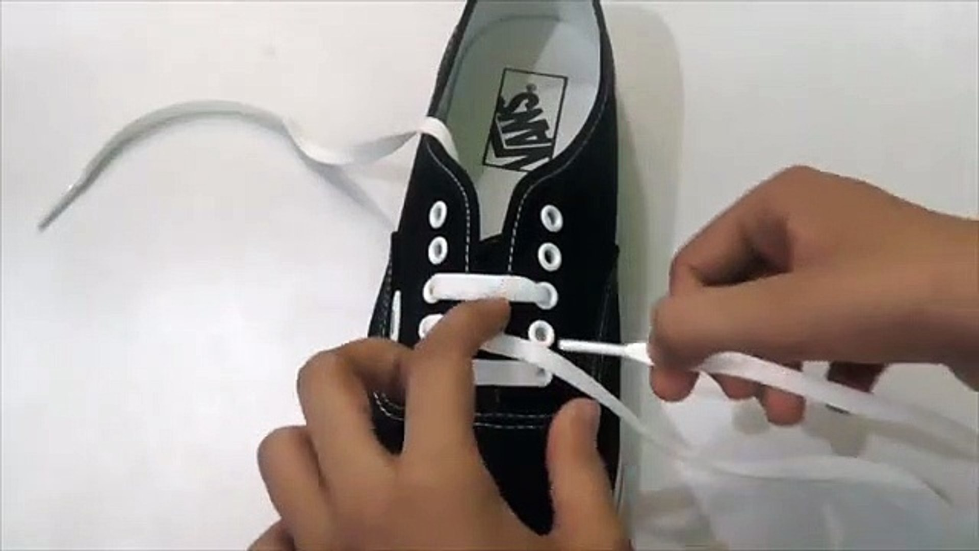 How to Bar lace shoes   canvas, vans and converse