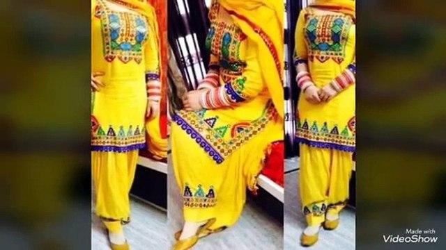 Top Boutique Style Patiala Shahi Salwar Suit #Punjabi Suits #Latest Punjabi Suits Designs# 2017