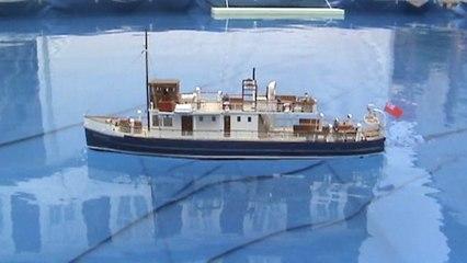 Modellschiff model ship Countess of Breadalbane mit buntem Lebenslauf