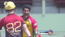 Sohail Tanvir 1/20 for Guyana Amazon Warriors against Trinbago Knight Riders in CPL 2017 [August 19th]