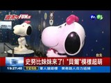65年不敗! 史努比展覽來台北