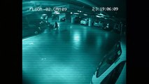 Ghost Caught on CCTV Camera _ Parking Garage Security Camera Footage _ Shocking Scary Ghost Sighting