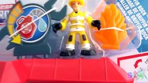 NEW TRANSFORMERS RESCUE BOTS GRIFFIN ROCK GARAGE TRANSFORMERS TOYS