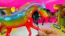 Arabe nuageux filles cheval jument modèle partiellement examen ensoleillé traditionnel Météo Breyer v