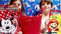 Aveugle des boites Noël des œufs vacances merveille jouer jouets Doh surprise disney tmnt dctc playdoug