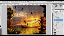 Tutorial photoshop cs5, como crear efecto puzzle.