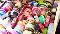 Office Crafting Storage/Collection: Washi Tape, Stickers, and scrapbooking | Belinda Selen
