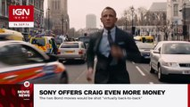 Daniel Craig Reportedly Offered $150M for Two More Bond Films IGN News