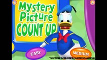 Mickey Mouse Clubhouse Games - Mystery Picture Count Up