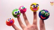 Colores familia dedo aprendizaje vivero rimas canción enseñar a color de pintura de dedos canción de siete
