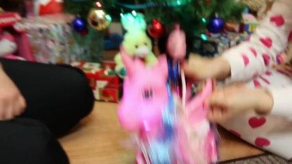 Bad Santa Attacks Freak Family Annabelle Victoria Daddy Toy Freaks Hidden Egg