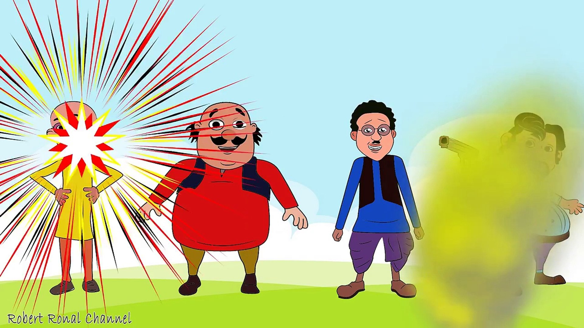 Learn Colors Wrong Hairs Motu Patlu trolls Chingam vs Ghasitaram