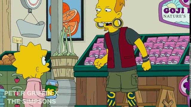 The Simpsons • Bart & Lisa Spy on Nelson