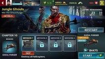 Chapitre événements fureur goules tireur délite Ios / android hd gameplay / walkthrough 7 jungle