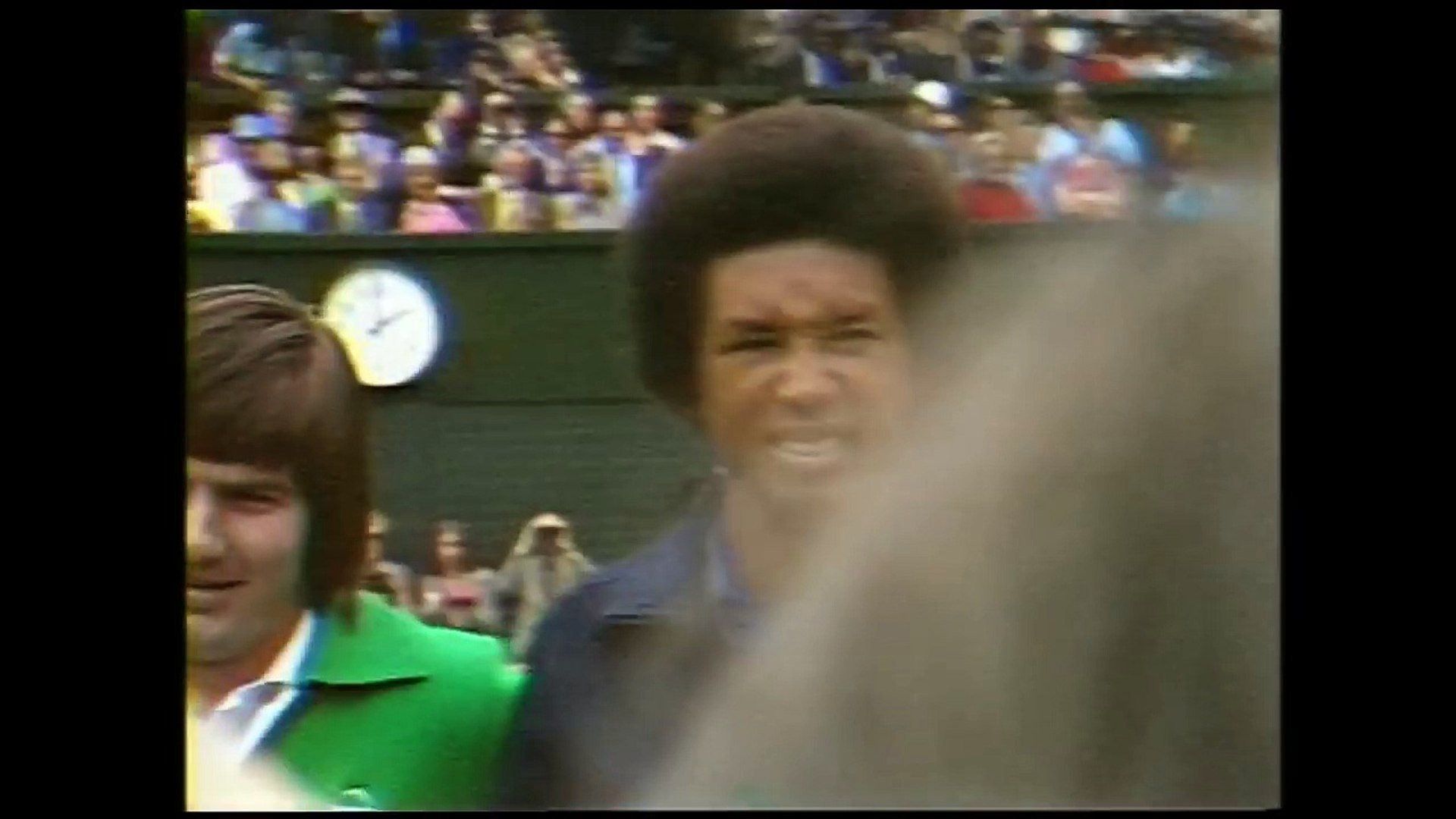 Ashe v Connors: Wimbledon Final 1975 (Extended Highlights)