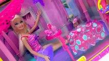 Salle de bains Brosses de luxe poupée obtient masque prêt douche douche les dents avec Barbie playset playdoh