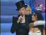 Madonna, Christina,  Britney & Missyelliott  Performance
