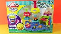 Play Doh Frosting Fun Bakery Set Sweet Shoppe Bake Cupcakes Play-Doh Doceria Mágica playdo