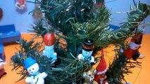 Dans le clin doeil avec 6 Nouvel An Peppa jouets cadeaux ouverts amis Pig école PEPP