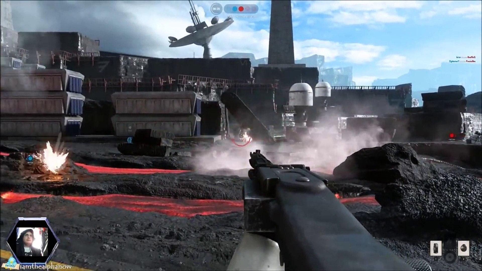 Star Wars Battlefront Episode 4: Storm troopers finally hit something