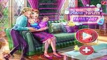 Et bébé soins journée la famille pour des jeux enfants Coccinelle Princesse jumeaux Disney rapunzel elsa anna