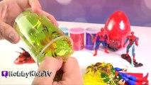 Les couleurs amusement amusement géant Apprendre Araign? e homme araignée araignées super-héros jouets Goo surprise superman ho
