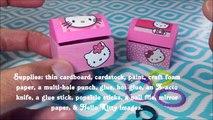 Коробка поделки Привет Ювелирные изделия Китти Организатор |