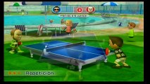 Wii Sport Resort Ping Pong - Game 2