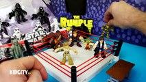 Étoile guerres jouets déballage avec étoile guerres pâte à modeler Oeuf et étoile guerres rebelles jouets par