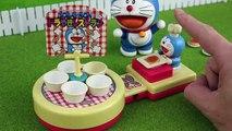 Doraemon vs Nobita Balance game toy animation ドラえもん ALPACO Doraemon Nobita house paper cra