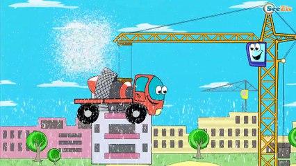✔ Grúa, Excavadora, Tractor   Carritos Para Niños. Caricaturas de carros. Tiki Taki Carros 10 min ✔