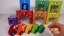 Les meilleures apprentissage vidéo pour enfants jouer avec jouet des voitures pour enfants Apprendre les couleurs compte amusement jouet