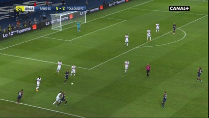 Neymar skill against Toulouse