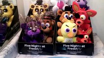 Five Nights at Freddys FNAF Series 2 Exclusive Plush Funko Nightmare Mangle, Cupcake, Pha