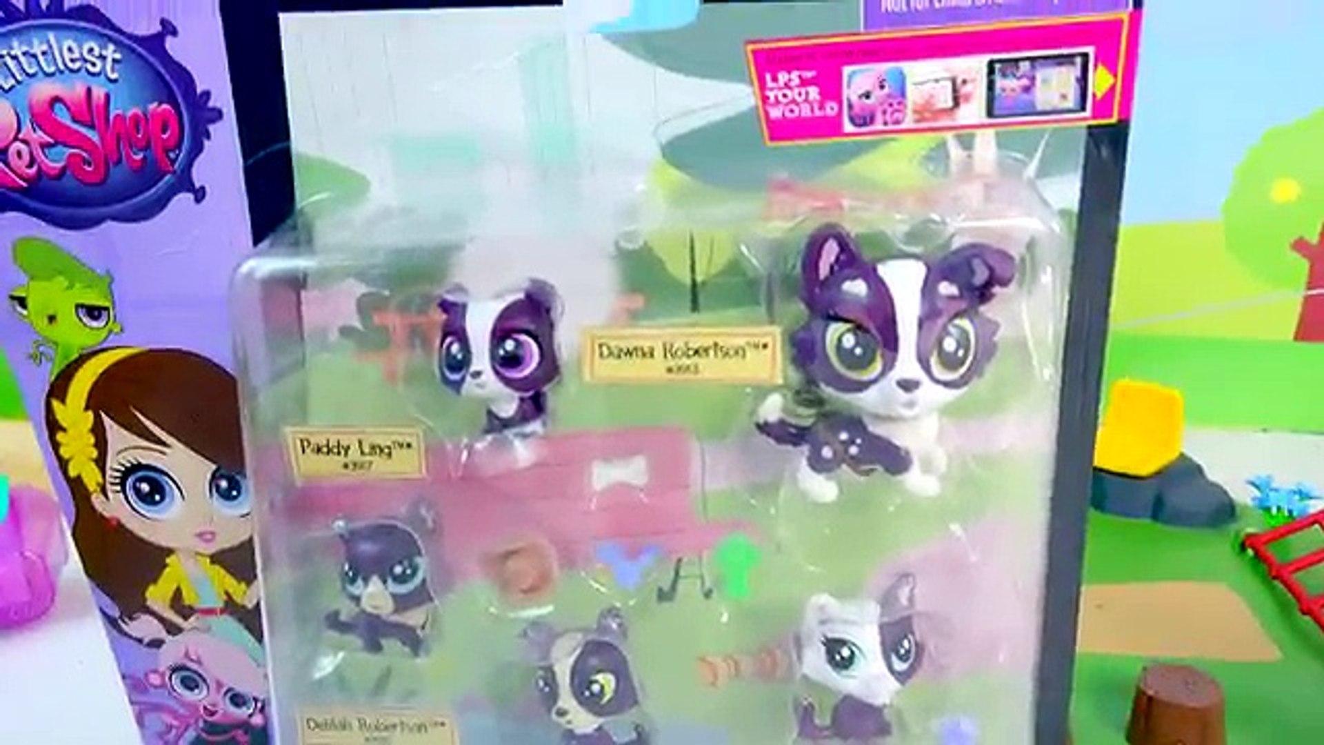 Mom and Babies Surprise Families Littlest Pet Shop Playset - Cookieswirlc LPS Video