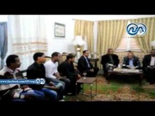 محافظ أسوان يسلم 25 عقد عمل للشباب فى منتجعات سياحية وسكنية