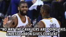 NBA Rumors: Kyrie Thought LeBron Wanted Him To Be Traded