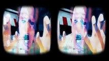 Boîte de papier carton réalité rouleau vidéo vidéos virtuel vr montagnes 3d vr 3d google sbs vr 360