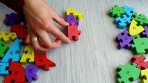 Jouets éducatifs puzzle-casse-tête casse-tête enfants-jeux-fruits