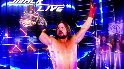 n AJ Styles vs. Kevin Owens tonight at SummerSlam -