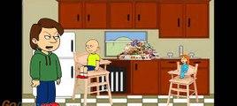Bébé mal paniers coloration biscuit Pâques des œufs bats toi aliments école contre Caillou rosie 5