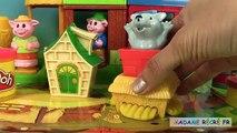 Petit les cochons fantoche théâtre les trois petits cochons et le loup marionnettes 3